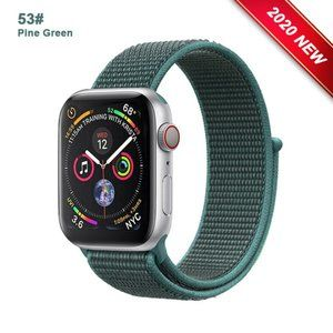 *❤️NEW Pine Green Sport Loop Strap For Apple Watch